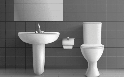 How to clean a toilet tank